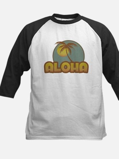 Aloha Palm Kids Baseball Jersey