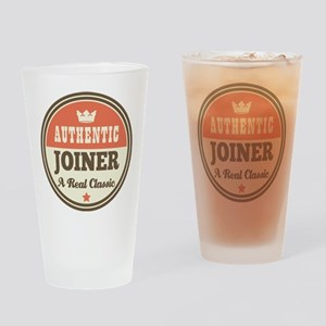 Joiner Funny Vintage Drinking Glass