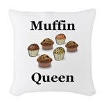 Muffin Queen Woven Throw Pillow