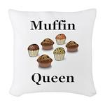 Muffin Queen Woven Throw Pillow