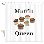 Muffin Queen Shower Curtain