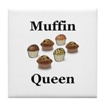 Muffin Queen Tile Coaster