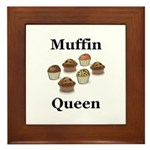 Muffin Queen Framed Tile