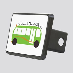 Wheels On Bus Hitch Cover