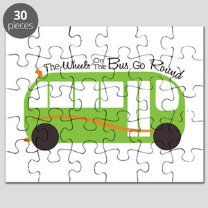 Wheels On Bus Puzzle