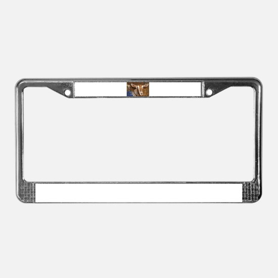 I'm not a kid any more: goat License Plate Frame