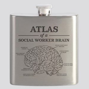 Atlas of a Social Worker Brain Flask