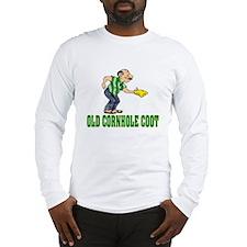Old Cornhole Coot Long Sleeve T-Shirt