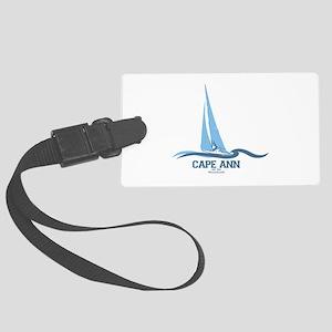 Cape Ann. Large Luggage Tag