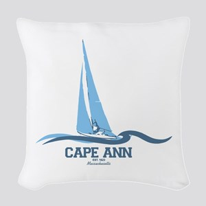 Cape Ann. Woven Throw Pillow