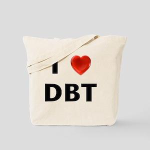 I love DBT Tote Bag