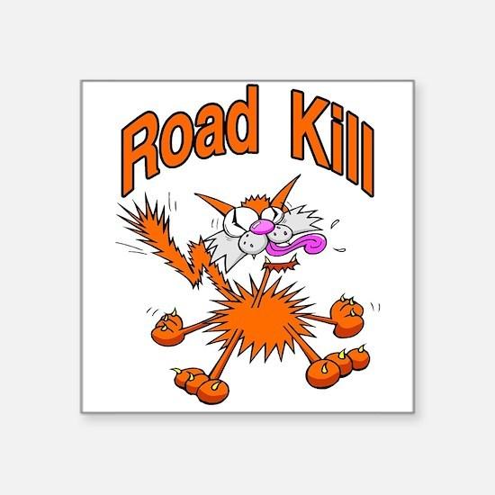 Road Kill, Cat Sticker