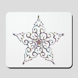 Iridescent Star Mousepad