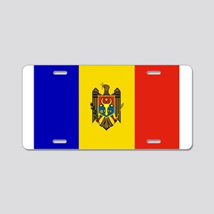 md-flag-7000w Aluminum License Plate
