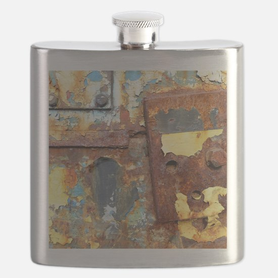 Colours of Rust, rust-art Flask