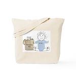 Jewish Baby Tote Bag