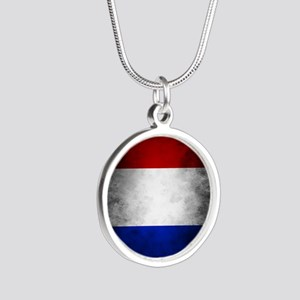 Grunge French Flag Necklaces