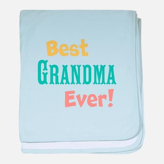 Best Ever baby blanket