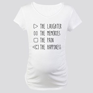 Play The Laughter Maternity T-Shirt