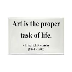 Nietzsche 24 Rectangle Magnet (100 pack)