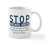 Spank the Monkey Mug