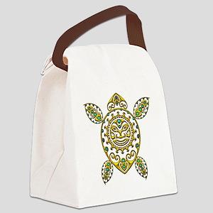 Maori Turtle Styl 2 Canvas Lunch Bag