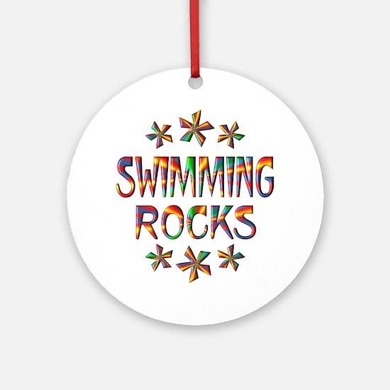 Swimming Rocks Ornament (Round)