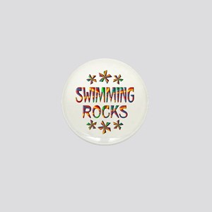 Swimming Rocks Mini Button