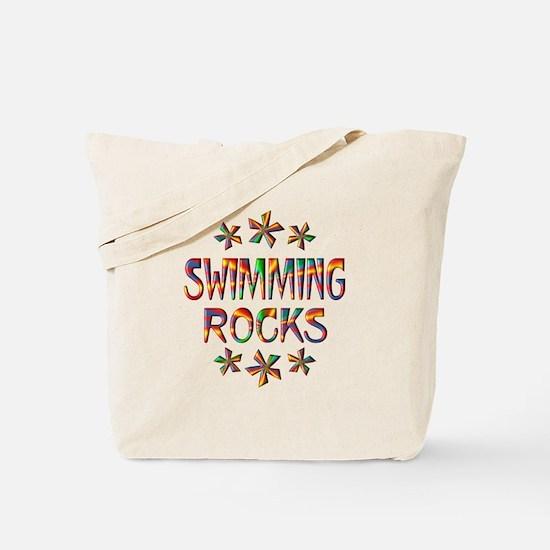 Swimming Rocks Tote Bag