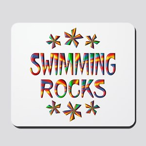 Swimming Rocks Mousepad