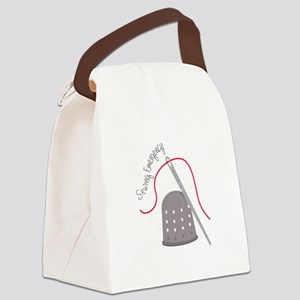 Sewing Emergency Canvas Lunch Bag