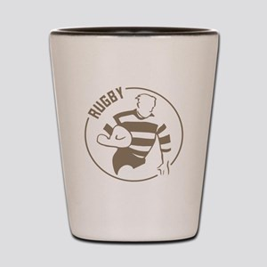 Classic Rugby Shot Glass