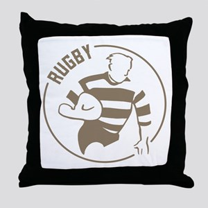 Classic Rugby Throw Pillow