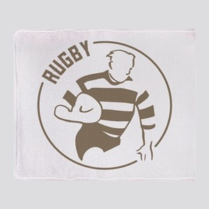 Classic Rugby Throw Blanket