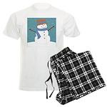 Snowman in Snow Pajamas