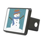 Snowman in Snow Hitch Cover