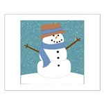 Snowman in Snow Posters