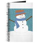 Snowman in Snow Journal