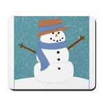 Snowman in Snow Mousepad