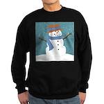 Snowman in Snow Sweatshirt