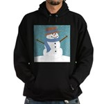Snowman in Snow Hoodie