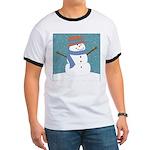Snowman in Snow T-Shirt