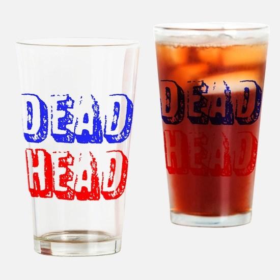 DEAD HEAD Drinking Glass