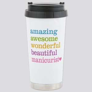 Awesome Manicurist Stainless Steel Travel Mug