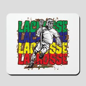 Lacrosse Action Mousepad