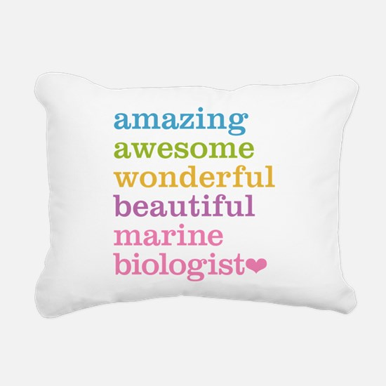 Marine Biologist Rectangular Canvas Pillow