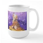 Adopt a Wolf large mug