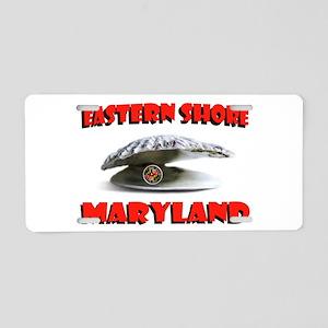 MARYLAND SHORE Aluminum License Plate
