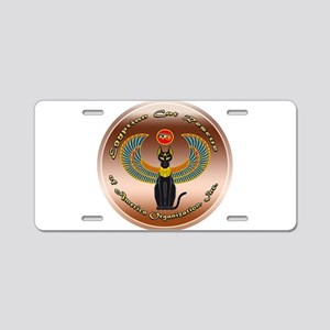 Egyptian Cat Rescue of Amer Aluminum License Plate