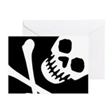 Skull birthday Greeting Cards (10 Pack)